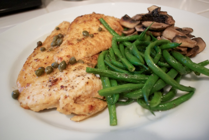 Chicken Piccata - Grain-free, Gluten-free, GAPS-friendly