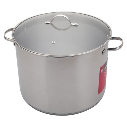 Chefmate 20QT Stainless Steel Stock Pot from Target